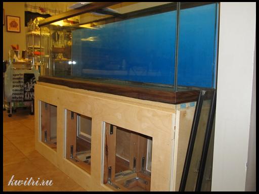 изготовление тумбы под аквариум