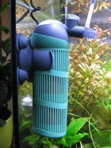 Подключить приборы в аквариуме